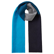 Buy Jigsaw Angus Colour Block Scarf, Multi Online at johnlewis.com
