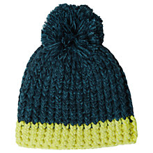 Buy White Stuff Heather Hand Knit Hat, Sea Green Online at johnlewis.com