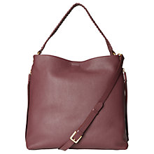 Buy White Stuff Shea Leather Hobo Bag Online at johnlewis.com