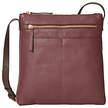 Buy White Stuff Leila North/South Leather Cross Body Bag Online at johnlewis.com