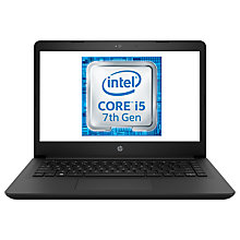 "Buy HP 14-BP026NA Laptop, Intel Core i5, 8GB RAM, 128GB SSD, 14"", Black Online at johnlewis.com"