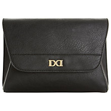 Buy Dune Ethal Clutch Bag, Black Online at johnlewis.com