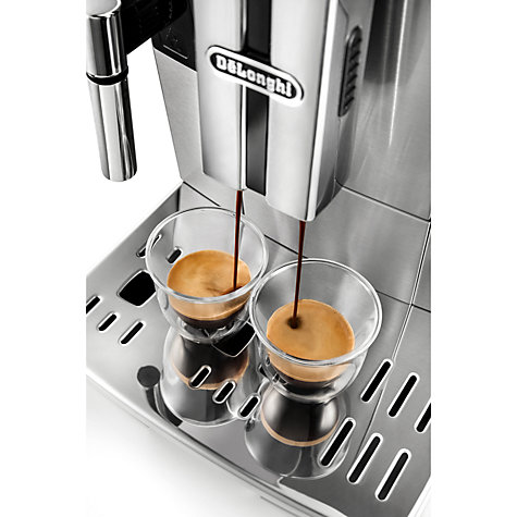 Buy De'Longhi ECAM 510.55 PrimaDonna S Evo Bean-to-Cup Coffee Machine, Silver Online at johnlewis.com