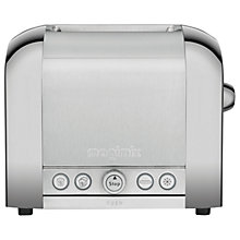 Buy Magimix 2-Slice Toaster, Brushed Steel Online at johnlewis.com