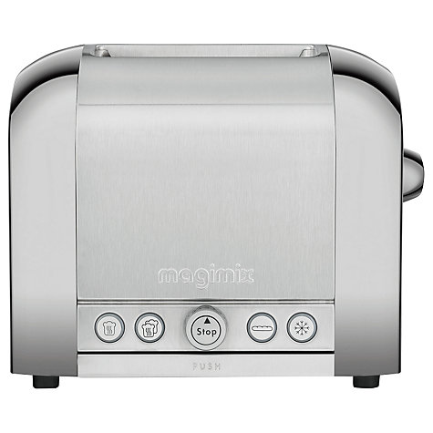 Buy Magimix 2 Slice Toaster Brushed Steel