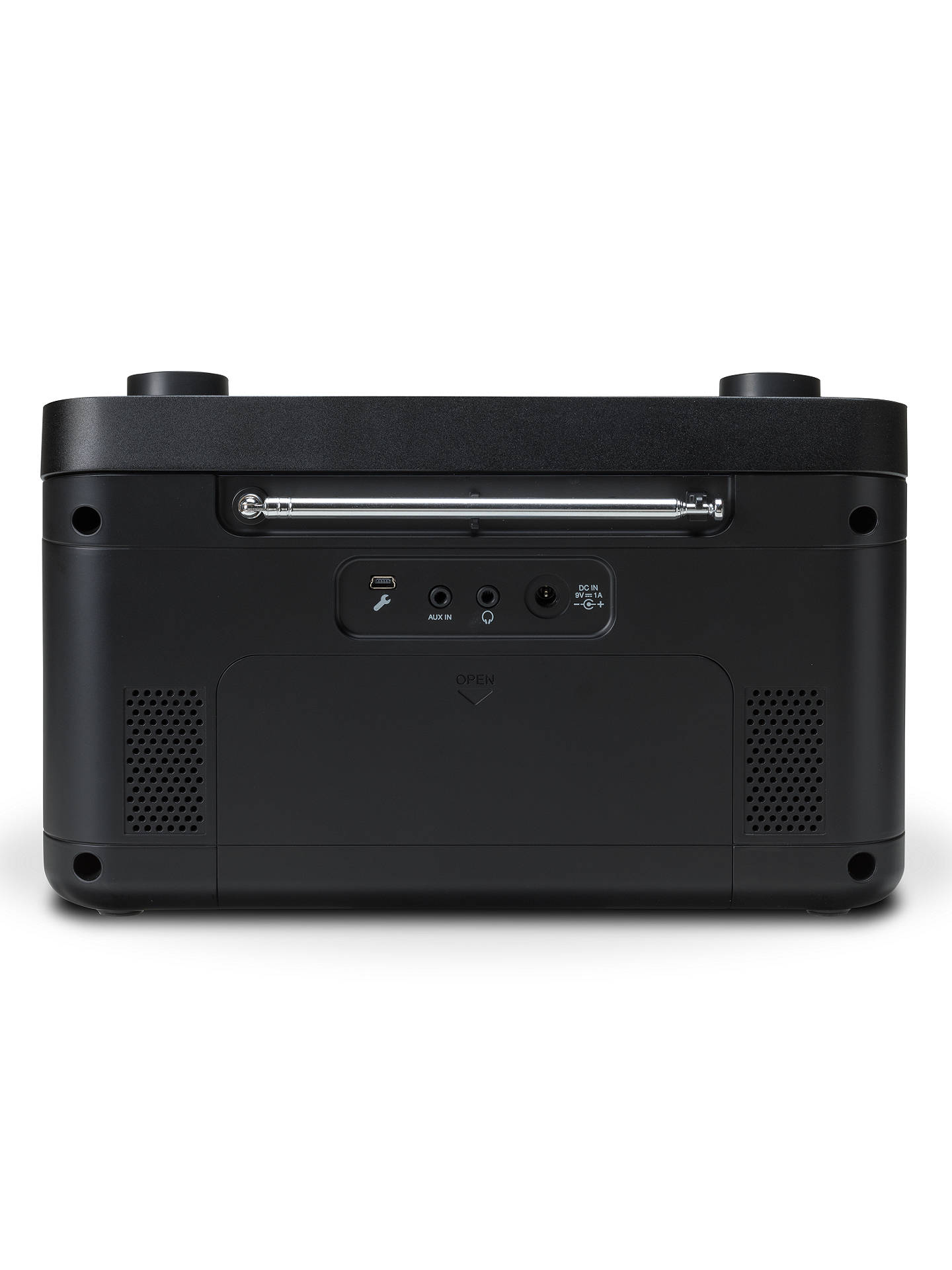 BuyROBERTS Blutune 5 DAB+/DAB/FM Bluetooth Radio, Black Online at johnlewis.com