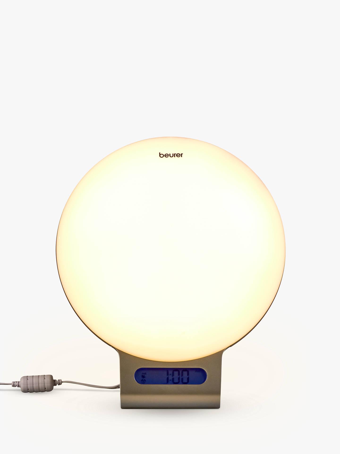 Beurer Wake Up Light.Beurer Wl 75 Wake Up App Controlled Light White