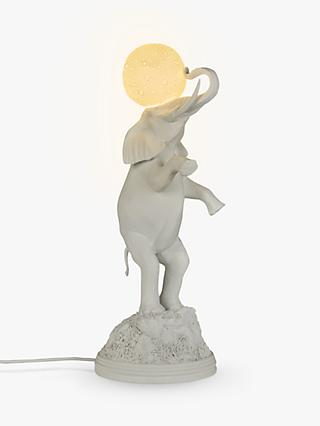 Seletti Elephant Moon Table Lamp, White