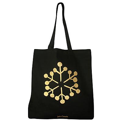 John Lewis Christmas Snowflake Tote Bag Review