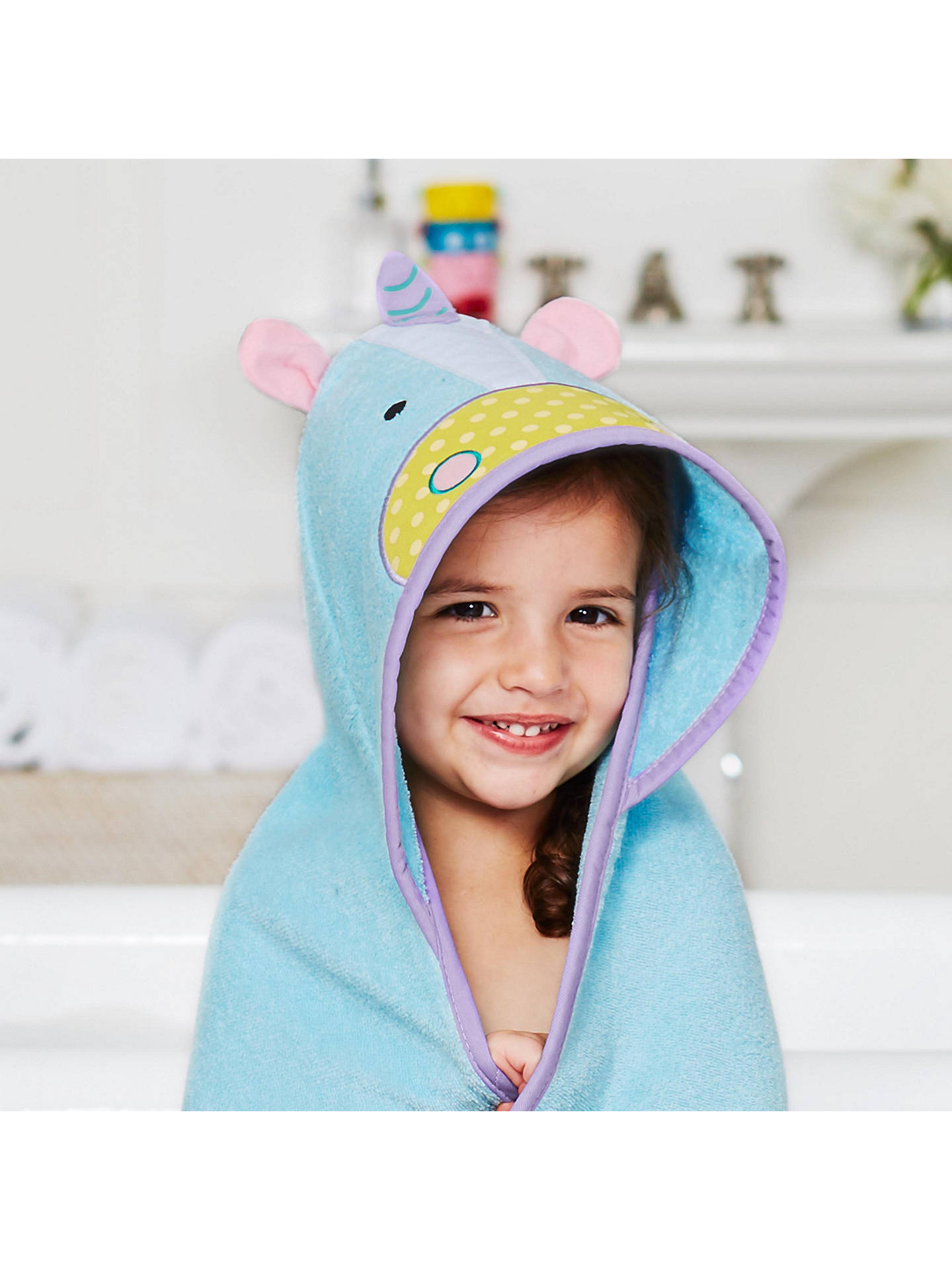 BuySkip Hop Baby Unicorn Hooded Towel Online at johnlewis.com