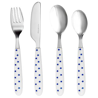 martin gulliver blue star 4 piece cutlery set