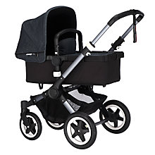 Buy Bugaboo Buffalo Limited Edition Complete Pushchair and Carrycot, Denim Online at johnlewis.com