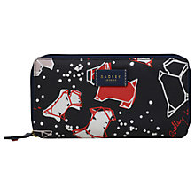 Buy Radley Speckle Dog Large Matinee Purse, Ink Online at johnlewis.com