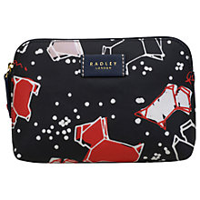 Buy Radley Speckle Dog Small Zip-Top Pouch Purse, Ink Online at johnlewis.com