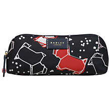 Buy Radley Speckle Dog Pencil Case, Ink Online at johnlewis.com
