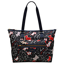 Buy Radley Speckle Dog Large Work Tote Bag, Ink Online at johnlewis.com