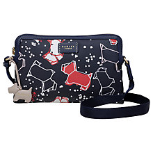 Buy Radley Speckle Dog Small Cross Body Bag, Ink Online at johnlewis.com