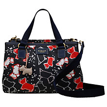 Buy Radley Speckle Dog Medium Grab Bag, Ink Online at johnlewis.com