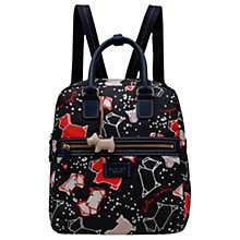 Buy Radley Speckle Dog Medium Backpack, Ink Online at johnlewis.com