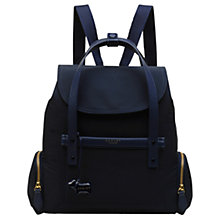 Buy Radley River Street Medium Flapover Backpack, Ink Online at johnlewis.com