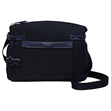 Buy Radley River Street Medium Cross Body Bag, Ink Online at johnlewis.com