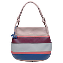Buy Radley Wren Street Leather Large Scoop Hobo Bag, Cobweb Online at johnlewis.com