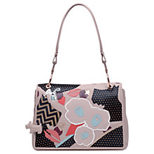 Buy Radley Summer Street Leather Large Shoulder Bag, Cobweb Online at johnlewis.com