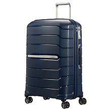 Buy Samsonite Experience Flux Spinner 4-Wheel 68cm Medium Suitcase Online at johnlewis.com
