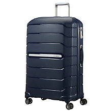 Buy Samsonite Experience Flux Spinner 4-Wheel 75cm Large Suitcase Online at johnlewis.com