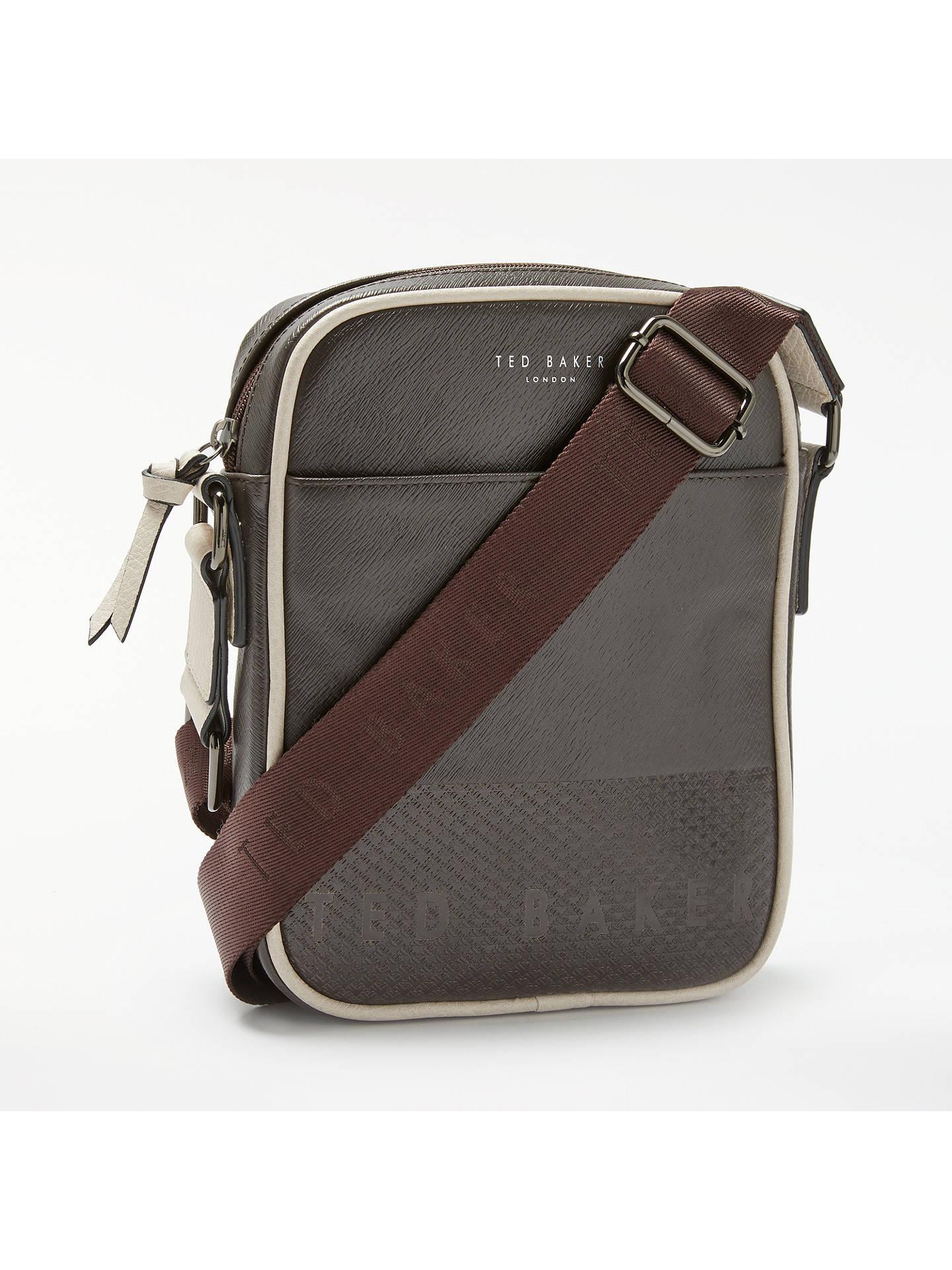 59672a2c831d Buy Ted Baker Aight Embossed Mini Flight Bag