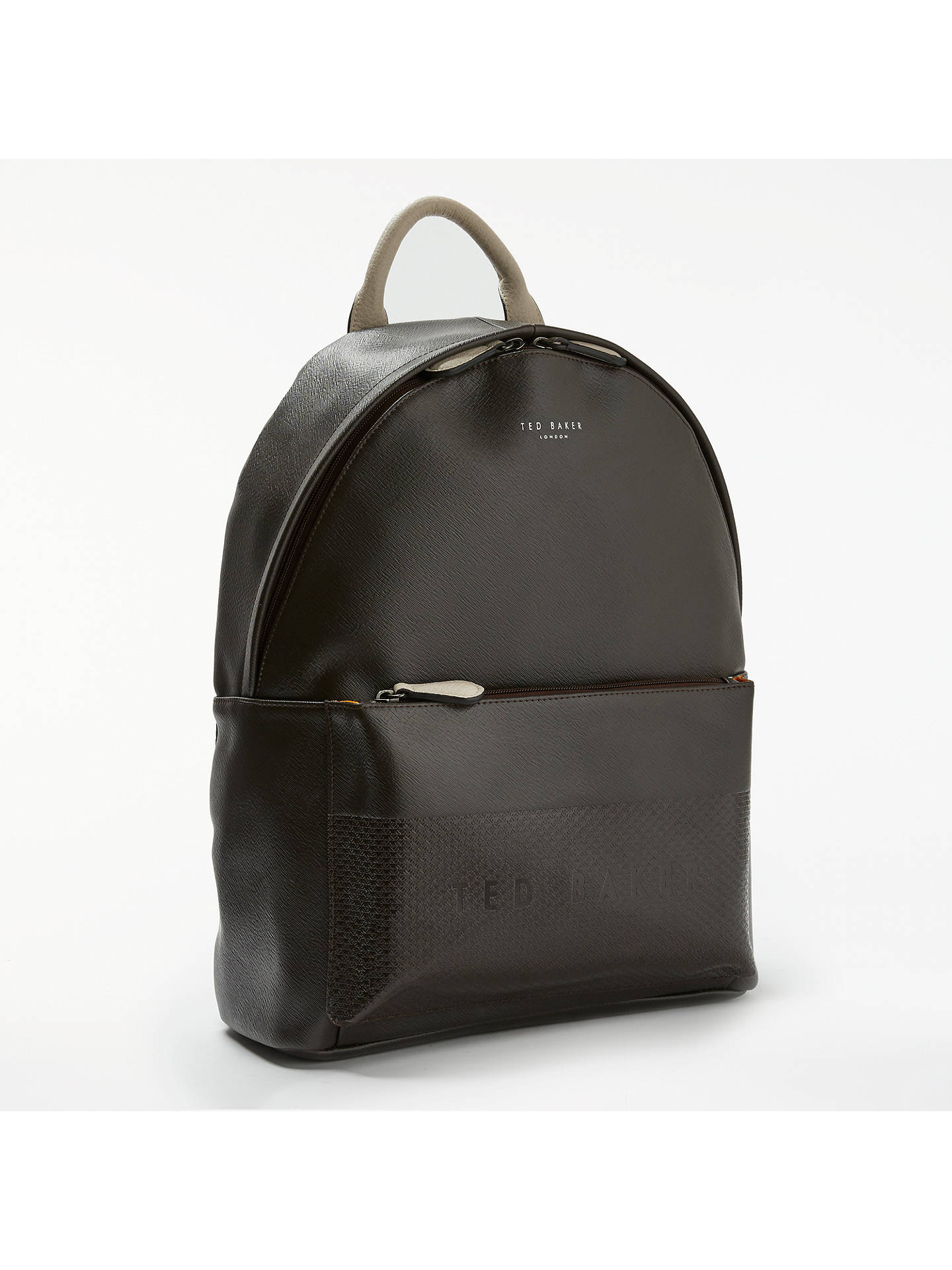 92128b88a Ted Baker Clarky Embossed Backpack at John Lewis   Partners