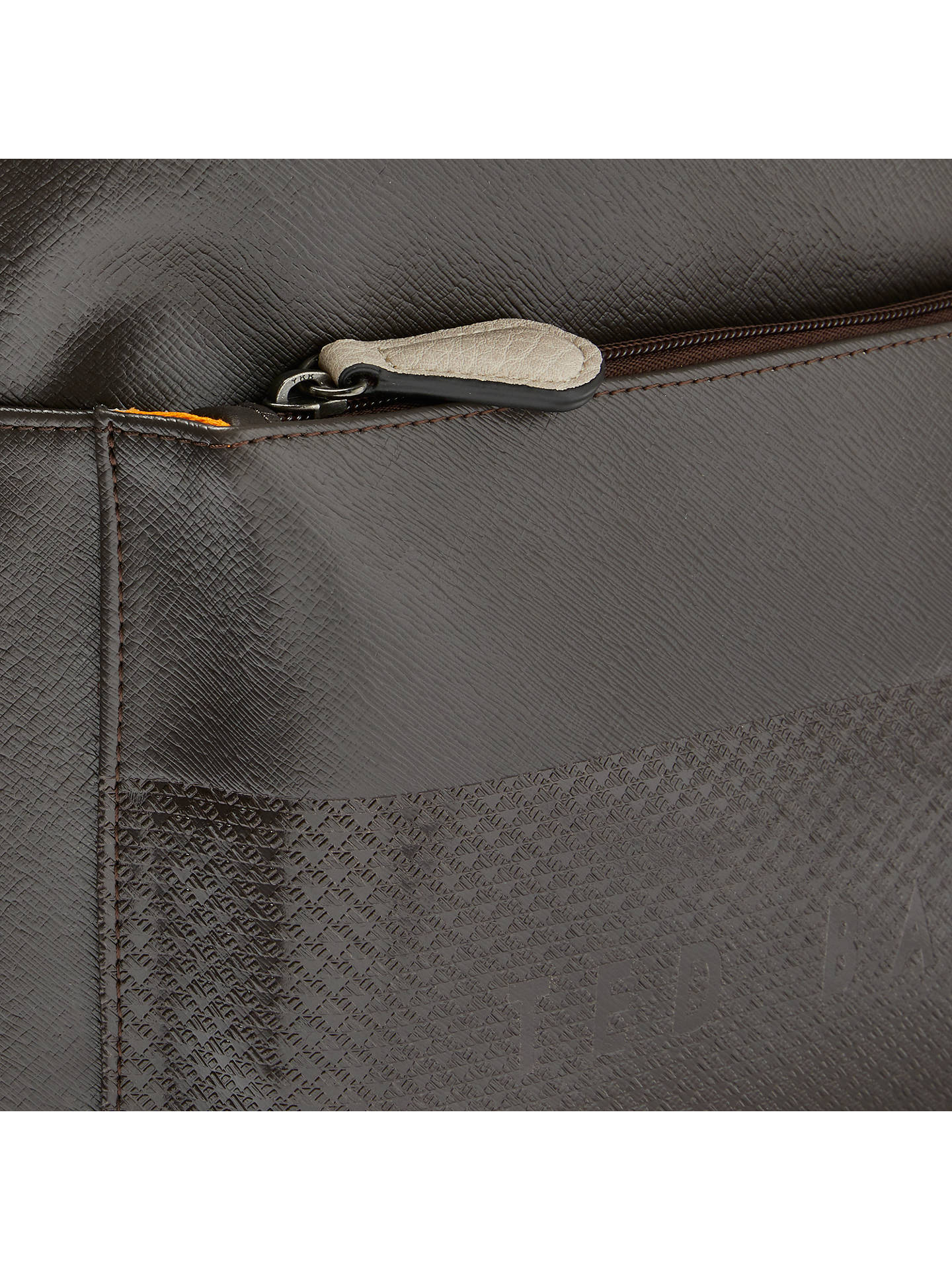 14e5bc58bc7a Ted Baker Clarky Embossed Backpack at John Lewis   Partners