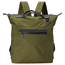 Buy Ally Capellino Mini Hoy Travel Cycle Backpack, Green Online at johnlewis.com