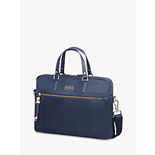 "Buy Samsonite Karissa Biz Bali Handle 15.6"" Laptop Bag, Navy Online at johnlewis.com"