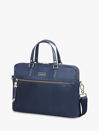 "Samsonite Karissa Biz Bali Handle 15.6"" Laptop Bag, Navy"