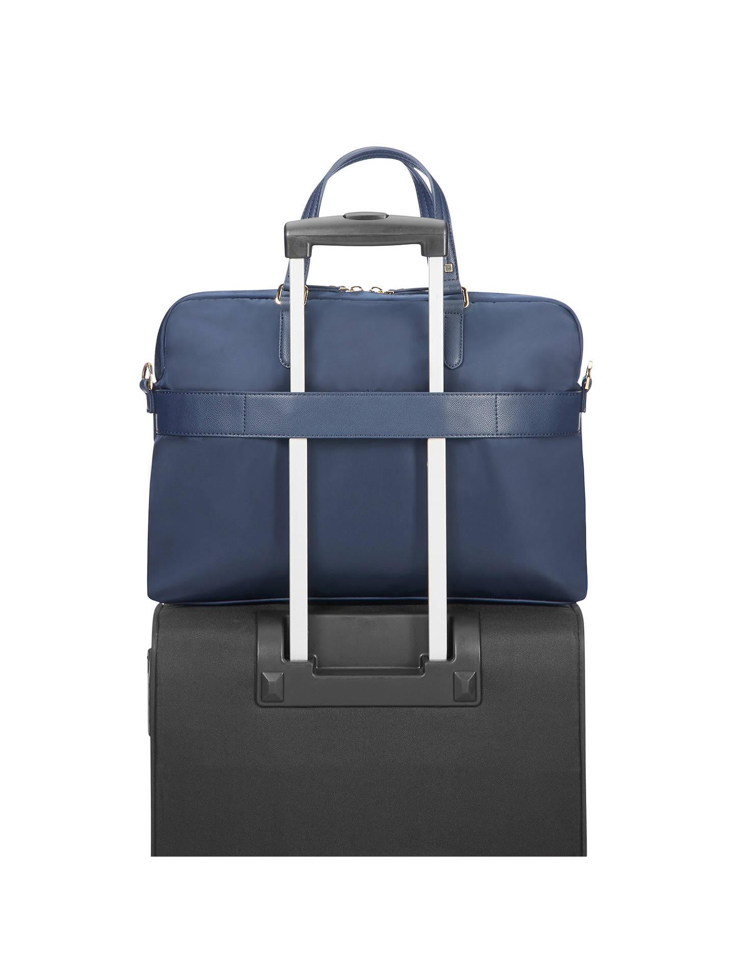 Samsonite Karissa Biz Bali Handle 15 6 Laptop Bag Navy At John