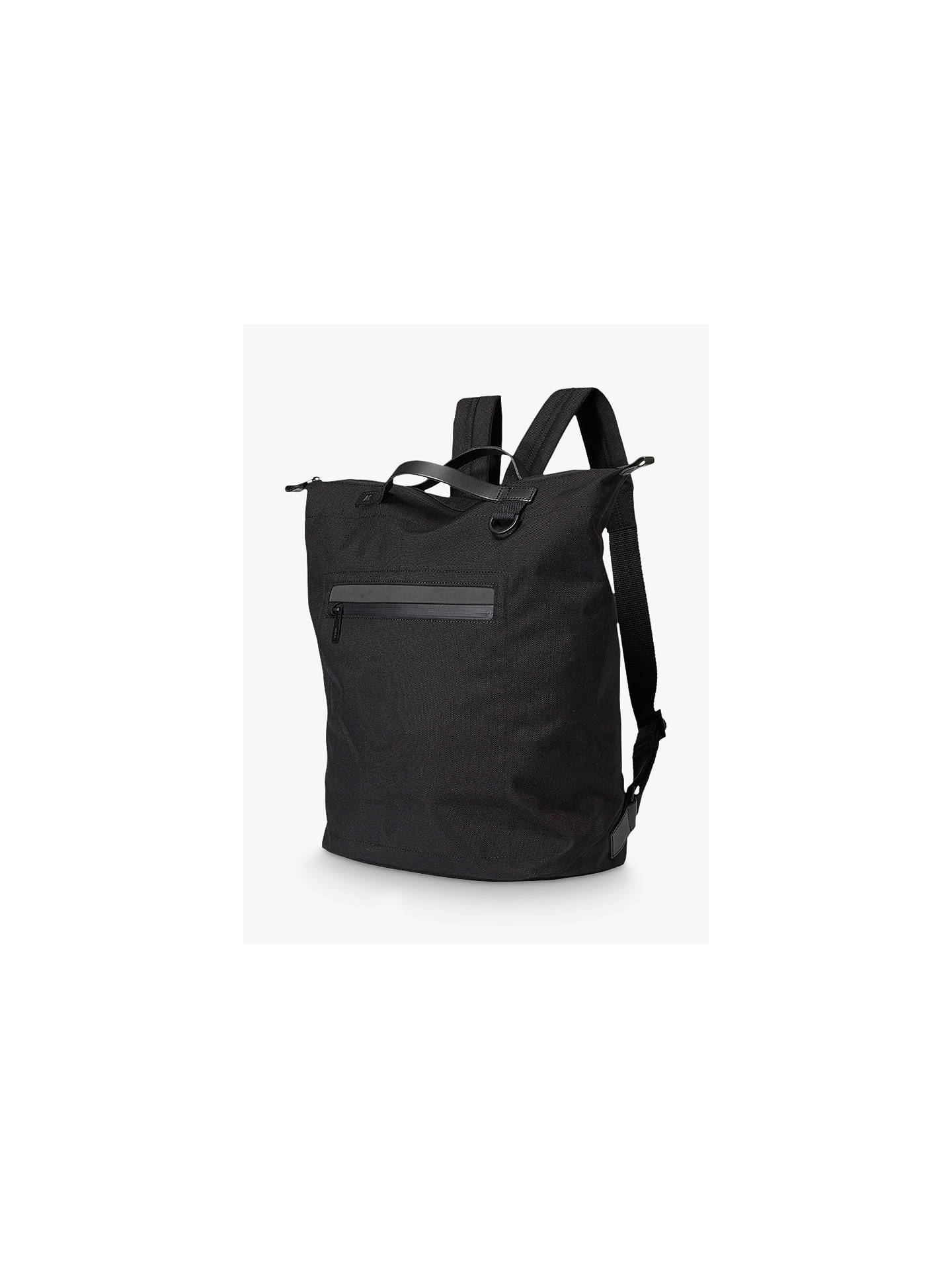 Buy Ally Capellino Hoy Travel Cycle Backpack, Black Online at johnlewis.com