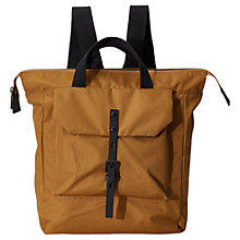 Buy Ally Capellino Frances Ripstop Nylon Backpack, Bronze Online at johnlewis.com