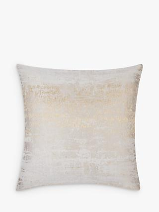 John Lewis & Partners Compton Cushion, Gold