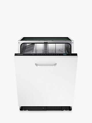 Samsung Series 6 DW60M6040BB Integrated Dishwasher, A++ Energy Rating, White