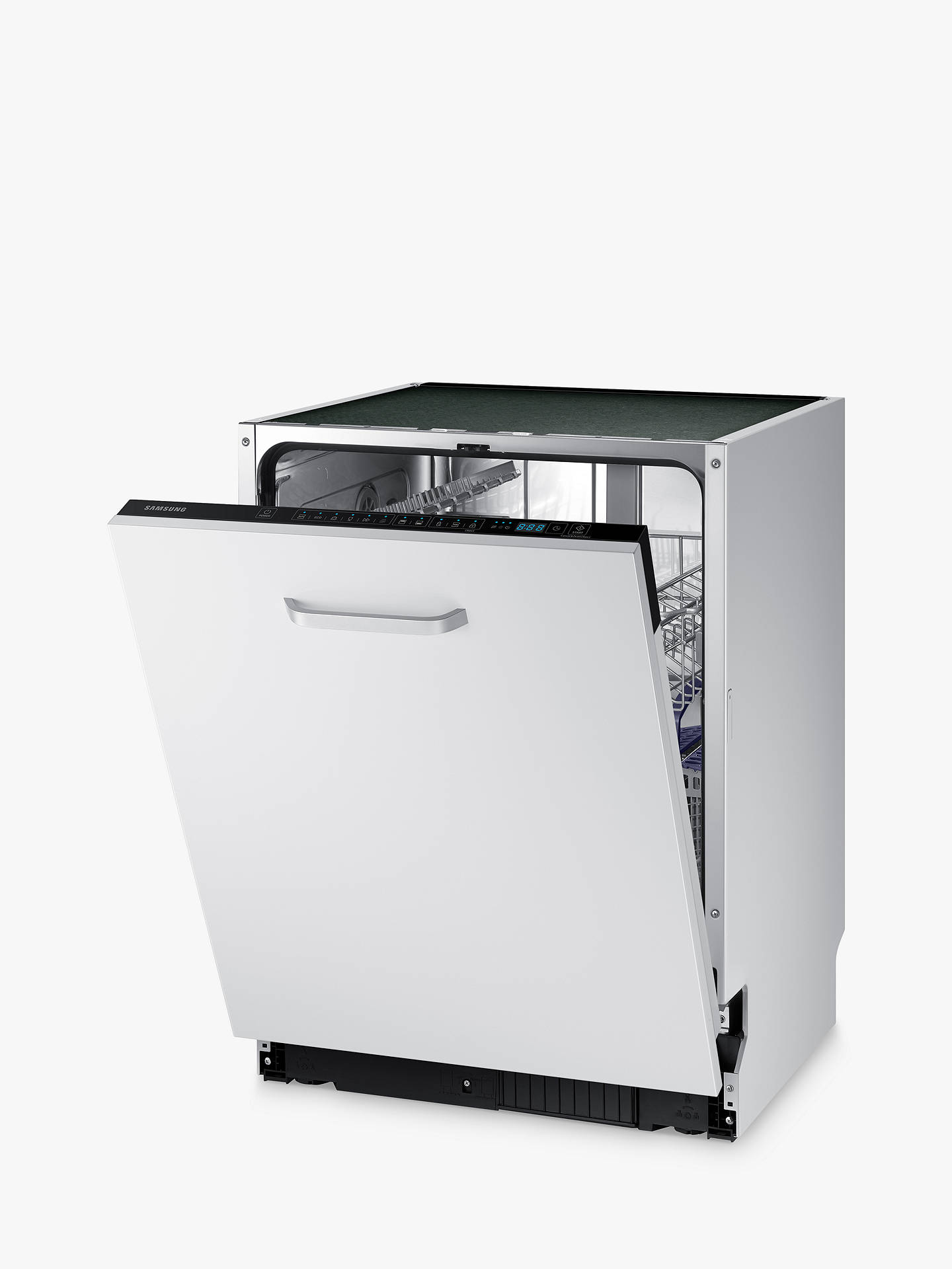 Buy Samsung Series 6 DW60M6040BB Integrated Dishwasher, A++ Energy Rating, White Online at johnlewis.com