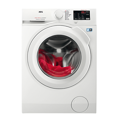 AEG L6FBI941N Freestanding Washing Machine, 9kg Load, A+++ Energy Rating, 1400rpm Spin, White