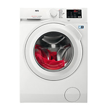 Buy AEG L6FBI941N Freestanding Washing Machine, 9kg Load, A+++ Energy Rating, 1400rpm Spin, White Online at johnlewis.com