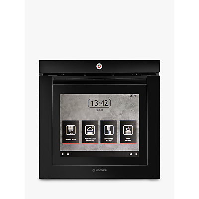 Image of Hoover Touchscreen Vision Black Built-in Electric Single Oven
