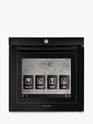 Hoover Vision Built-In Single Oven, Black Glass