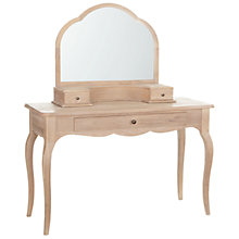 Buy John Lewis Etienne Dressing Table and Mirror Online at johnlewis.com