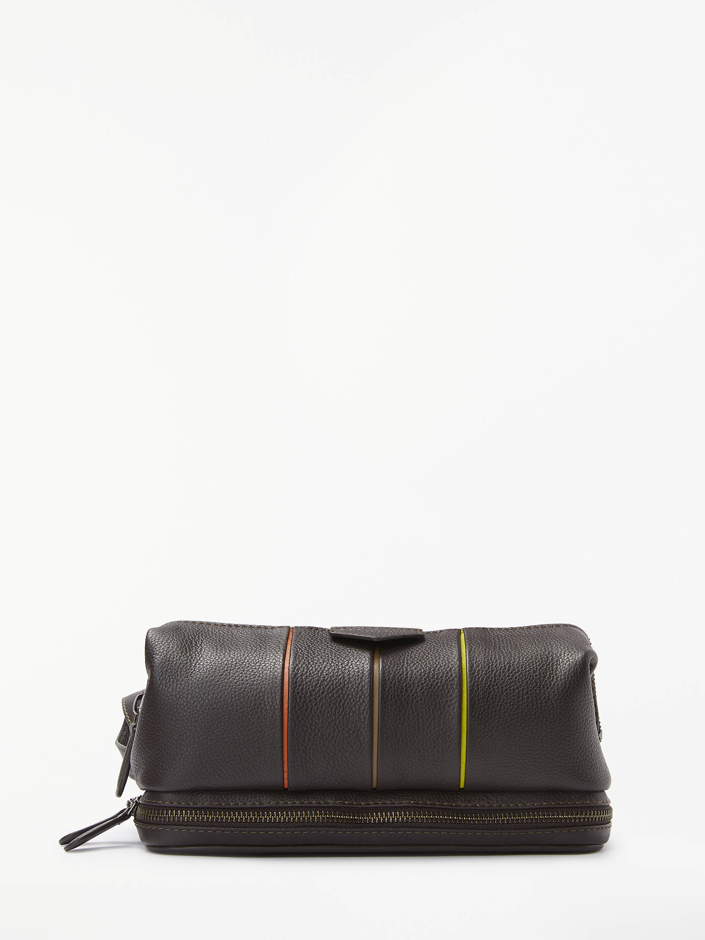 fc9541207 Buy Ted Baker Teekee Striped Leather Wash Bag
