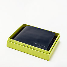 Buy Ted Baker Dolla Suede Coin Slot Wallet, Navy Online at johnlewis.com