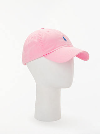 Buy Polo Ralph Lauren Classic Baseball Cap, One Size, Carmel Pink Online at johnlewis.com