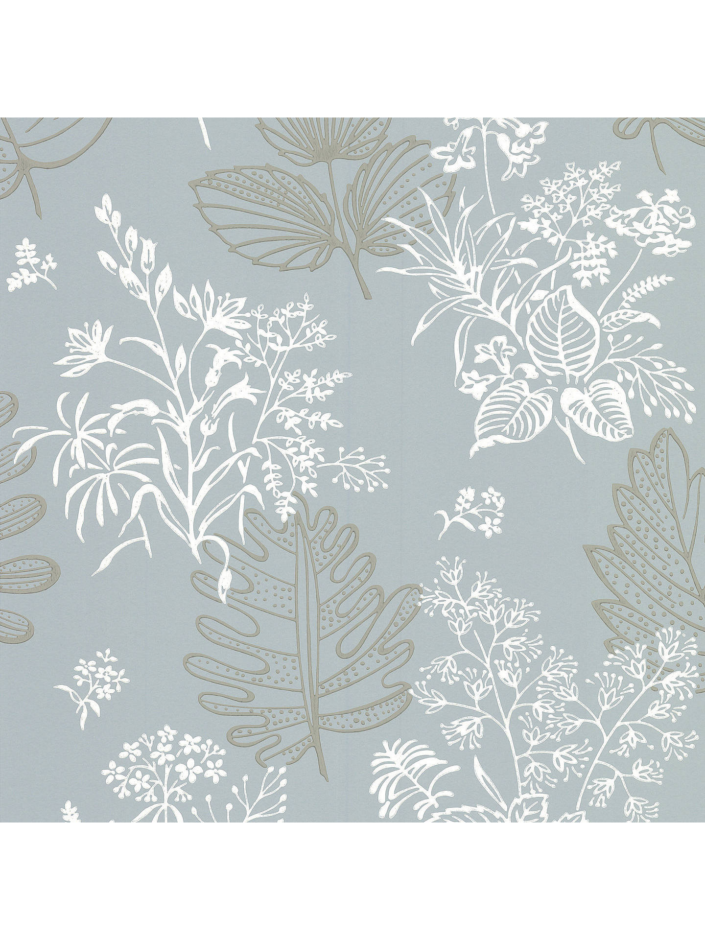BuyLittle Greene Paint Co. Norcombe Floral Wallpaper, 0272NRWELKI Online at johnlewis.com